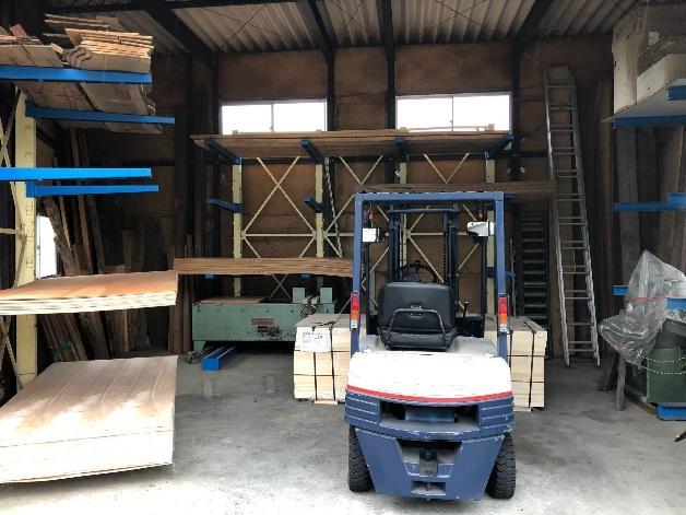 渡辺木工 倉庫